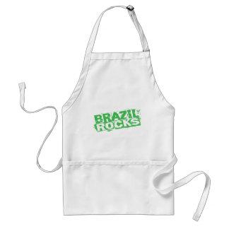 Brazil Rocks Standard Apron