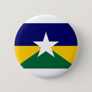 Brazil Rondonia Flag 2 Inch Round Button