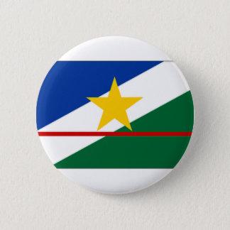 Brazil Roraima Flag 2 Inch Round Button