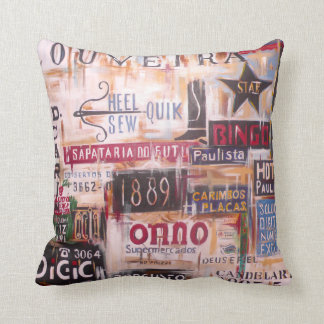 Brazil - San Paulo Throw Pillow