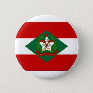 Brazil Santa Catarina Flag 2 Inch Round Button