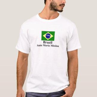 Brazil Santa Maria Mission T-Shirt