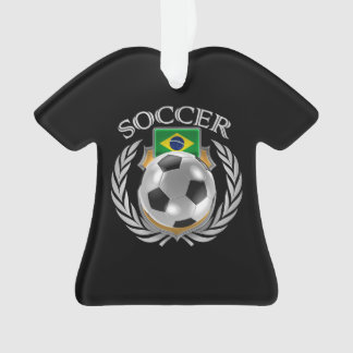 Brazil Soccer 2016 Fan Gear Ornament