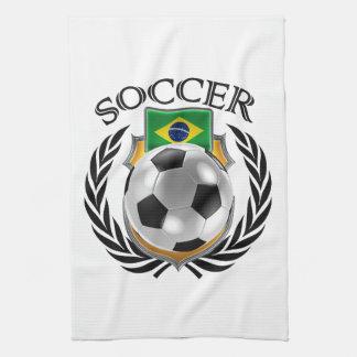 Brazil Soccer 2016 Fan Gear Towel