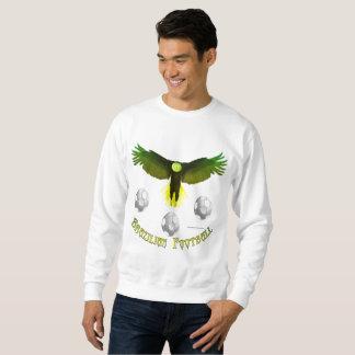 Brazil Soccer Eagle Men's Sweatshirt