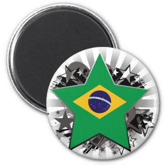 Brazil Star Magnet