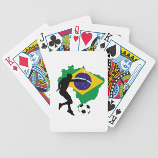 Brazil T-Shirts Bicycle Playing Cards