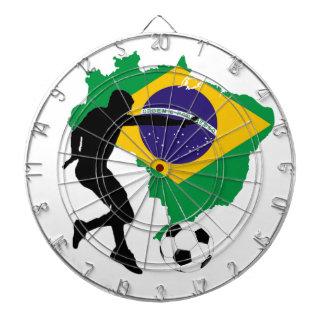 Brazil T-Shirts Dartboard