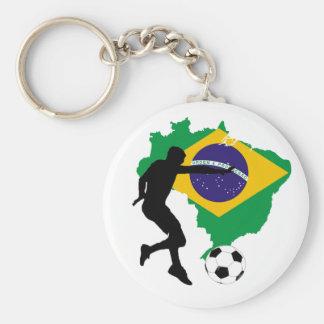 Brazil T-Shirts Keychain
