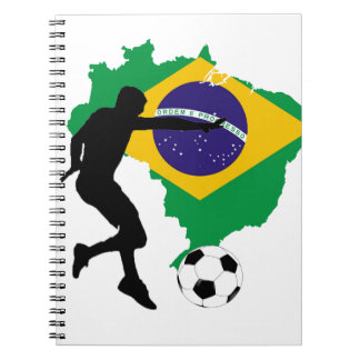 Brazil T-Shirts Notebook