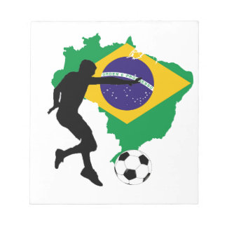 Brazil T-Shirts Notepad