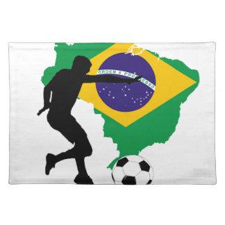 Brazil T-Shirts Placemat