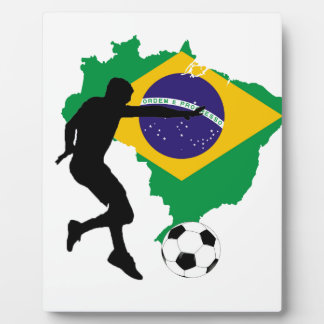 Brazil T-Shirts Plaque