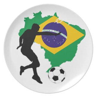 Brazil T-Shirts Plate