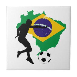 Brazil T-Shirts Tile