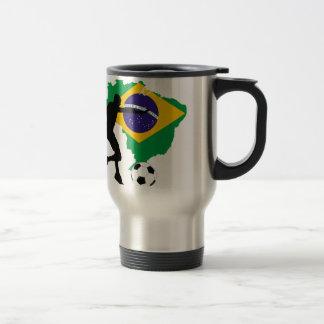 Brazil T-Shirts Travel Mug