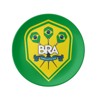 Brazil Traditional Pub Games Plate