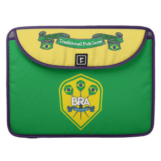 Brazil Traditional Pub Games Sleeve For MacBook Pro