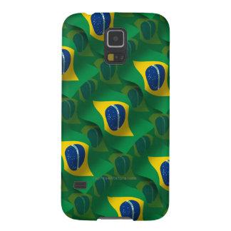Brazil Waving Flag Galaxy S5 Case