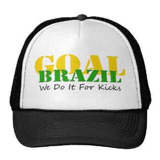 Brazil - We Do It For Kicks Trucker Hat