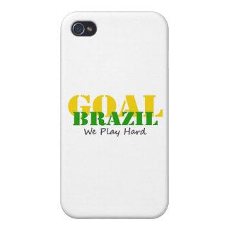 Brazil - We Play Hard iPhone 4/4S Case