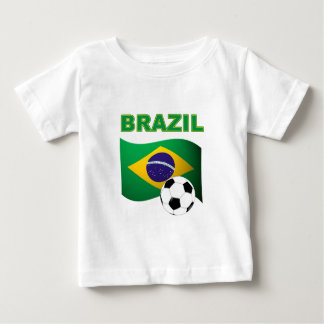Brazil World Cup T-Shirt Flag