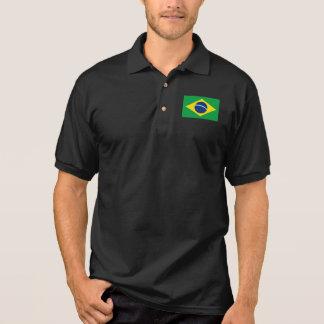 Brazil World Flag Polo Shirt