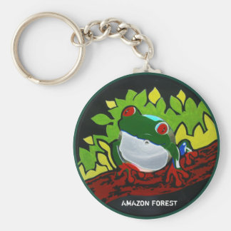 Brazilian Amazon Frog Keychain