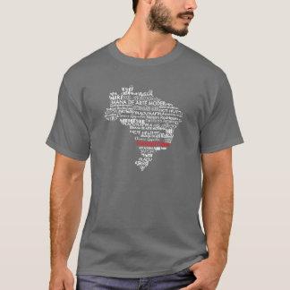 Brazilian Artists &Culture Map T-Shirt