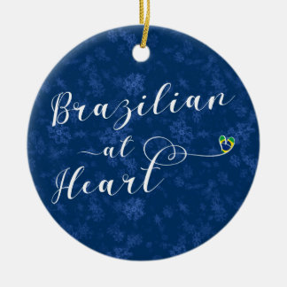 Brazilian At Heart Holiday Tree Ornament