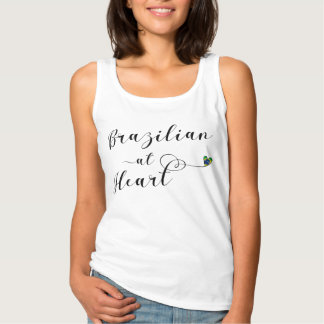 Brazilian At Heart Tank Top, Brasil