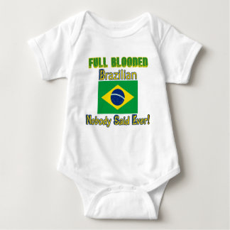 brazilian citizen design baby bodysuit