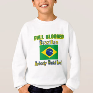 brazilian citizen design sweatshirt