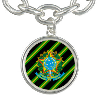 Brazilian Coat of arms Bracelet