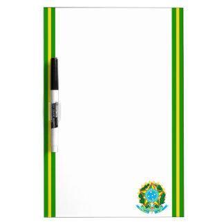 Brazilian Coat of arms Dry Erase Board