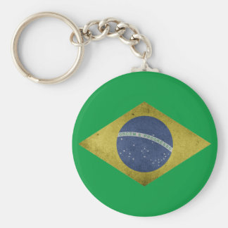 Brazilian diamond keychain