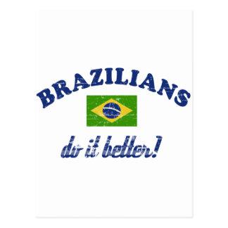 Brazilian do it better postcard