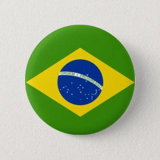 Brazilian Flag 2 Inch Round Button