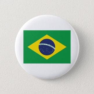 Brazilian Flag. 2 Inch Round Button