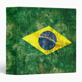 Brazilian Flag Binder