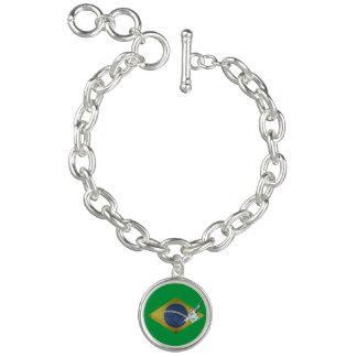 Brazilian flag bracelet