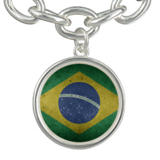 Brazilian flag bracelets
