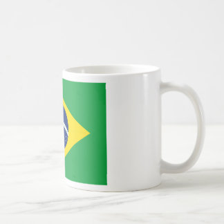 Brazilian flag coffee mug