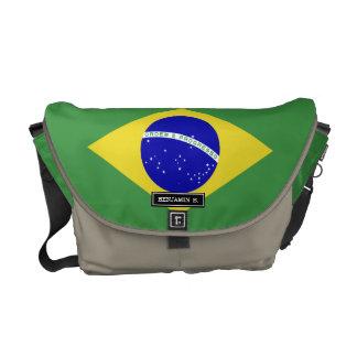 Brazilian Flag Courier Bag