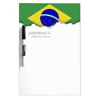 Brazilian Flag Dry-Erase Boards