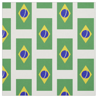 Brazilian Flag Fabric