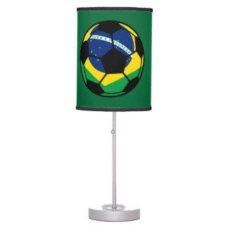 Brazilian Flag Football Desk Lamp
