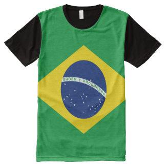 Brazilian Flag full All-Over-Print T-Shirt