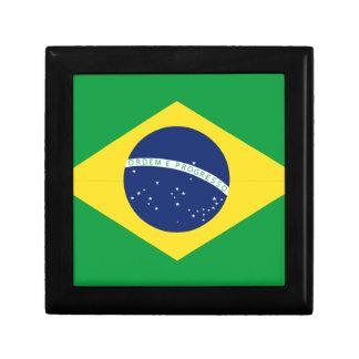 Brazilian flag gift box