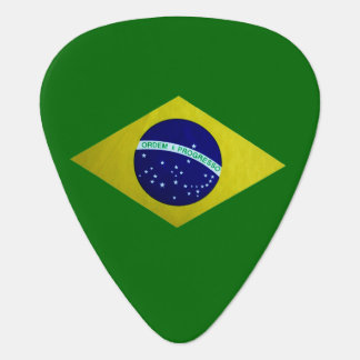 Brazilian Flag Guitar Pick